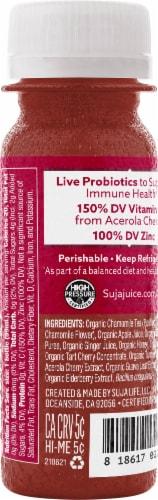 Suja Organic® Immunity Rebound Shot with Elderberry & Probiotics Perspective: back