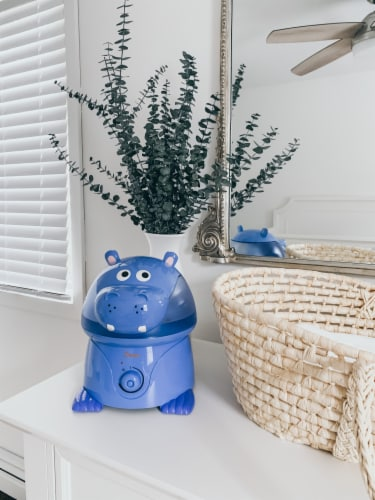 Crane Hippo Cool Mist Humidifier Perspective: back