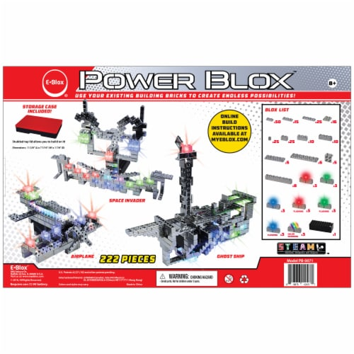 E-Blox Power Blox Circuit Building Toy Perspective: back