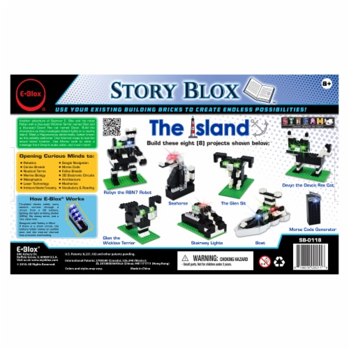 E-Blox The Island Story Blox Perspective: back