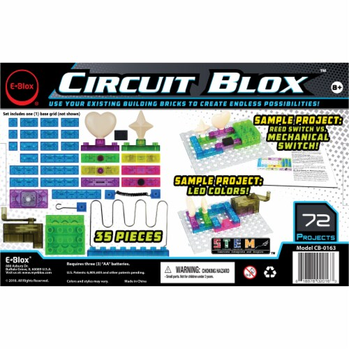 E-Blox Circuit Blox Perspective: back