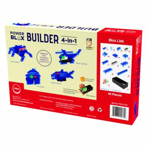 E-Blox LED Building Blocks Perspective: back