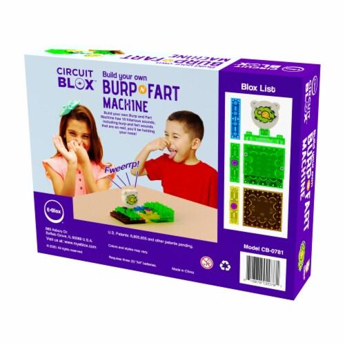 E-Blox Circuit Blox Build Your Own Burp & Fart Machine Perspective: back