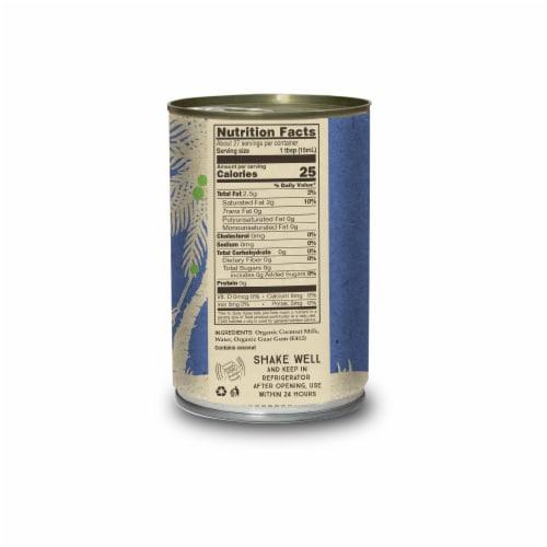 Organic Coconut Milk 13.5 fl. oz Perspective: back