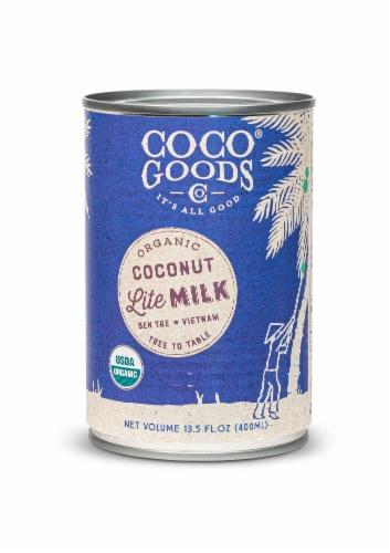 CocoGoods Co Organic Coconut Milk Lite 13.5 fl. oz Perspective: back