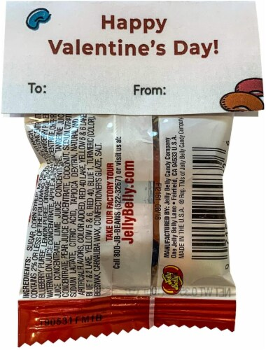Midlee Thank You for BE'AN my Friend Jelly Bean Valentine Party Favors- Set of 24 Perspective: back