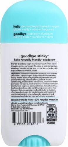 Hello Fresh + Clean Deodorant Perspective: back