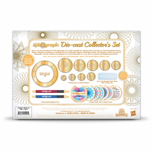 Spirograph DieCast Collectors Set Perspective: back
