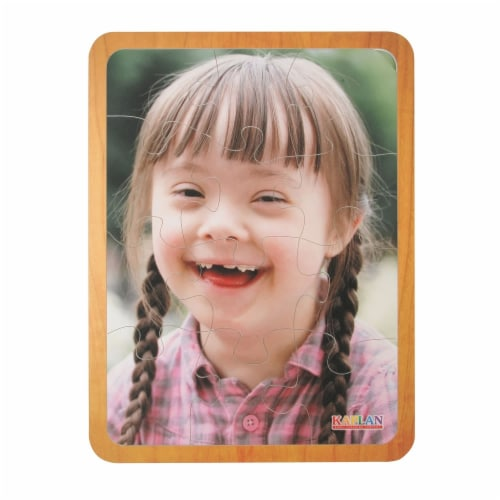 Kaplan Early Learning Friends Like Me Differing Abilities Puzzle Set  - Set of 4 Perspective: back