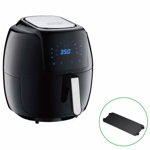 GoWISE USA 8-in-1 Digital Air Fryer, 7.0-Qt, Black Perspective: back