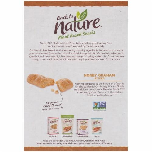 Back to Nature™ Honey Graham Sticks Perspective: back