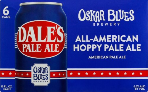 Oskar Blues Brewery Dales Pale Ale Perspective: back