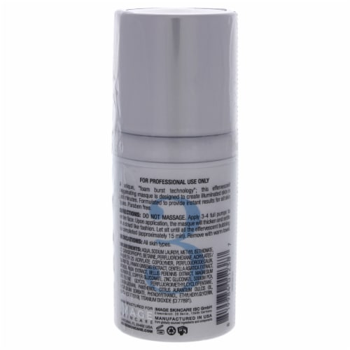 O2 Lift Oxygenating Facial Masque by Image for Unisex - 1 oz Mask Perspective: back