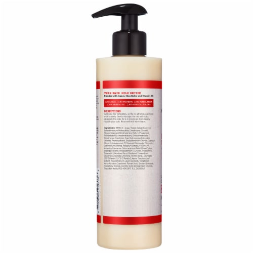Carol's Daughter Hair Milk Nourishing & Conditioning Cleansing Conditioner for Curly Hair Perspective: back