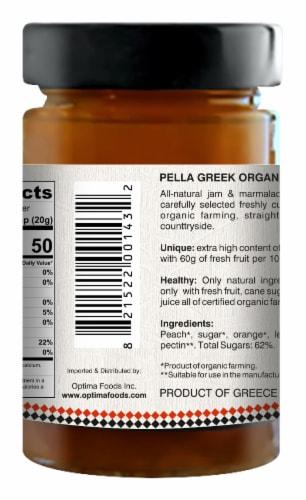 Pella Organic Peach Jam Perspective: back