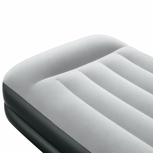Sealy 94051E-BW 16 Inch Inflatable Mattress Twin Airbed w/ Built-In AC Air Pump Perspective: back