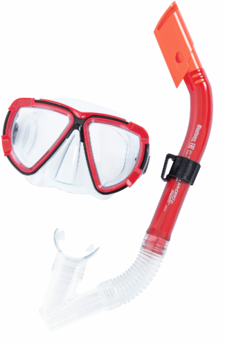Bestway Hydro-Swim Blackstripe Adult Snorkel Set - Assorted Perspective: back