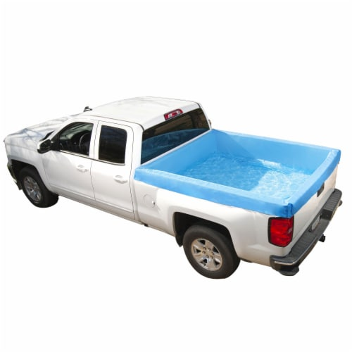 Bestway 54283E Portable Standard 5.5 Foot Payload Pickup Truck Bed Swimming Pool Perspective: back