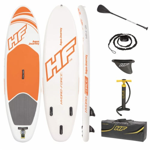 Bestway Hydro Force Inflatable Aqua Journey SUP Stand Up Paddle Board Perspective: back
