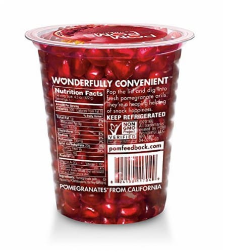 POM POMS Wonderful Pomegranate Arils Perspective: back