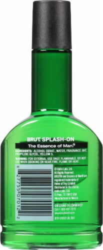 Brut Splash-On After Shave Lotion Perspective: back