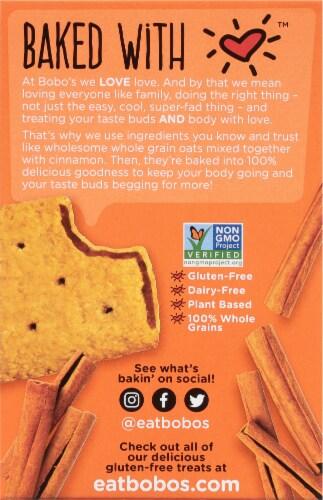 Bobo's® Cinnamon Brown Sugar Toaster Pastries Perspective: back