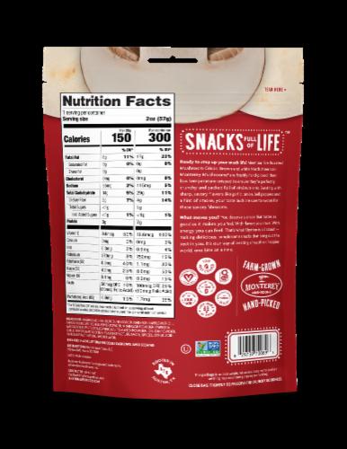 Rhythm® Gluten Free Fire Roasted Mushroom Crisps Perspective: back