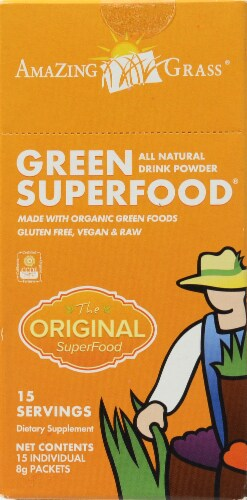 Amazing Grass Green Superfood Powder Perspective: back