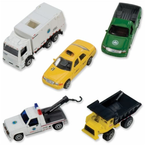 Daron Worldwide Trading RT8925 New York City Official 5 Pc Vehicle Set Perspective: back