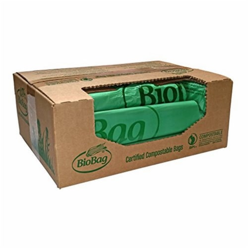 BioBag Compostable 8-gallon Trash Can Liners  / 500-ct. case Perspective: back