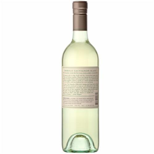Emmolo Wines Sauvignon Blanc White Wine Perspective: back