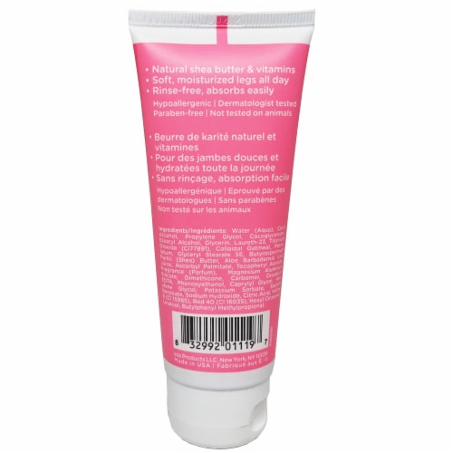 EOS Travel Size Pomegranate Raspberry Shave Cream Perspective: back