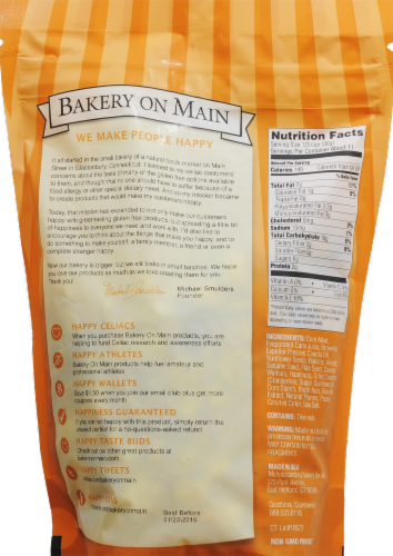 Bakery on Main Extreme Nut & Fruit Granola Perspective: back