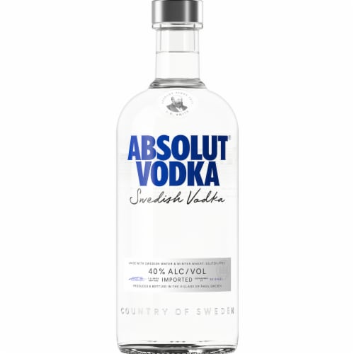 Absolut Original Vodka Perspective: back