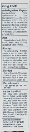 Natralia Eczema & Psoriasis Cream Perspective: back