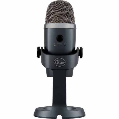 Blue Yeti Microphone Perspective: back