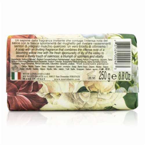 Nesti Dante Dolce Vivere Fine Natural Soap  Milano  Lily Of The Valley, Willow Tree & Oak Mus Perspective: back