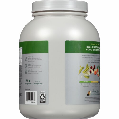 Vega One Organic All-In-One Chocolate Shake Drink Mix Perspective: back