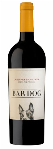 Bar Dog Cabernet Sauvignon Red Wine Perspective: back
