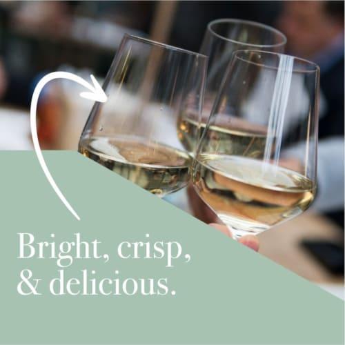 Martin's Rake Sauvignon Blanc White Wine Perspective: back