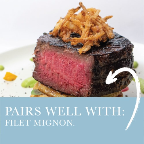 Hedgeline Vineyards Cabernet Sauvignon Perspective: back