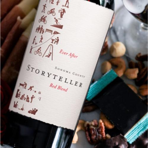 Storyteller Red Blend Perspective: back