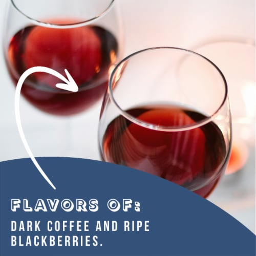 Magistrate Restitution Red Blend Perspective: back