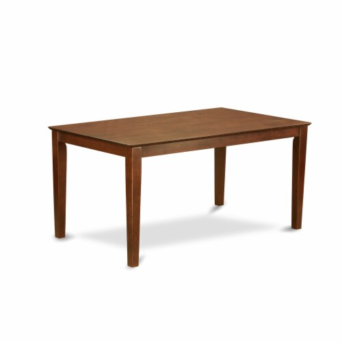 X697FL121-6-6-Piece Dinette Set-4 Chairs, an Bench & Table Solid Wood Structure Perspective: back