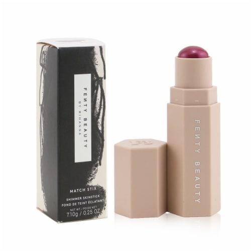 Fenty Beauty by Rihanna Match Stix Shimmer Skinstick  # Bordeaux Brat (Radiant Berry) 7.1g Perspective: back