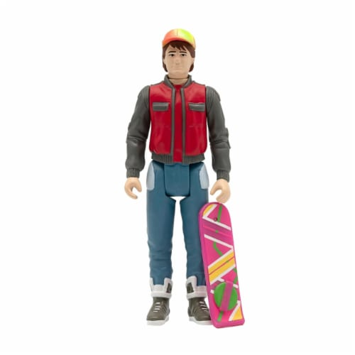 Super7 Back To The Future Part II Future Marty Reaction Figure Perspective: back