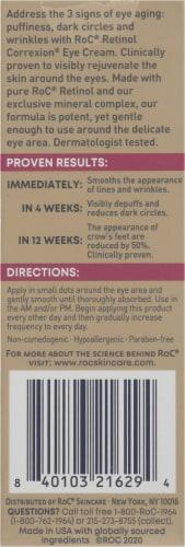 Roc® Retinol Correxion® Line Smoothing Eye Cream Perspective: back