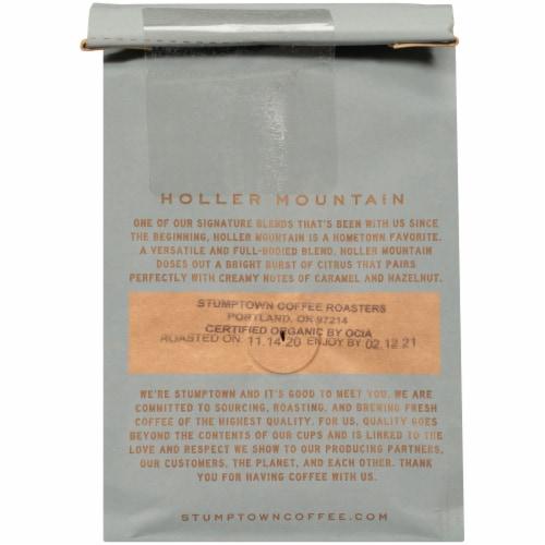 Stumptown Coffee Organic Holler Mountain Ground Coffee Perspective: back