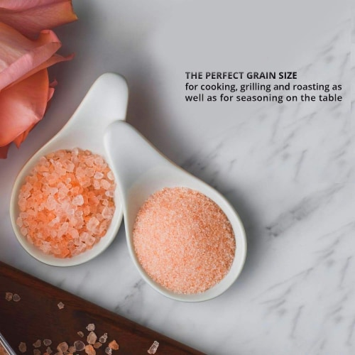 Salt 84 Pink Salt, Coarse Salt for Baking, Cooking & Seasoning | Pack of 6 – 1lbs Each Perspective: back