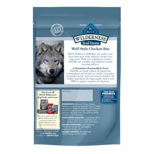 Blue Wilderness Trail Treats Chicken Recipe Wild Bits Training Dog Treats Value Size Perspective: back